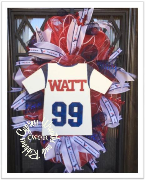 JJ Watt Football Wreath #99