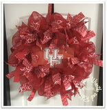 University of Houston Cougars Wreath