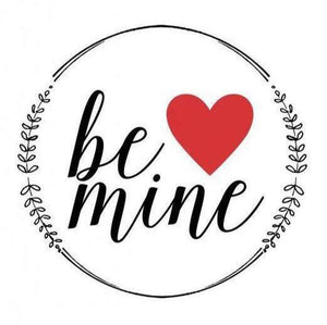 "Be Mine 2.25"" Round Button"