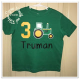 John Deere Tractor Shirt - Birthday