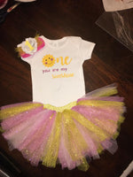 You are my Sunshine - Birthday Outfit