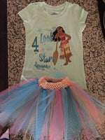 Moana theme - Birthday Outfit