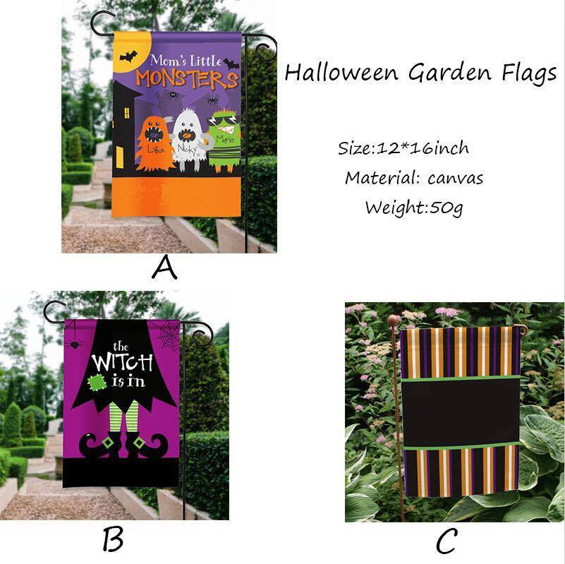 Halloween Garden Flags - $7.99