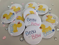Beaus or Bows Gender Reveal Baby Shower 2.25