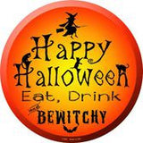"Halloween 12"" Circular Signs"