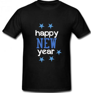 Happy New Year - Unisex Heavy Cotton Shirt Preshrunk