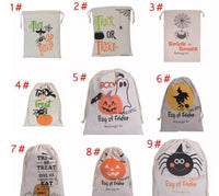 Halloween Large Canvas Bags for Halloween Candy - FREE SHIPPING!!!