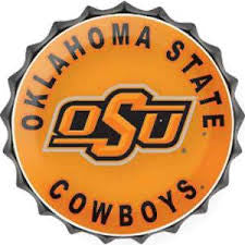 Oklahoma State Cowboys Wreath and Sign