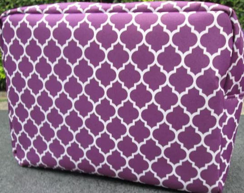 Quarterfoil Make-up Cosmetic Bags