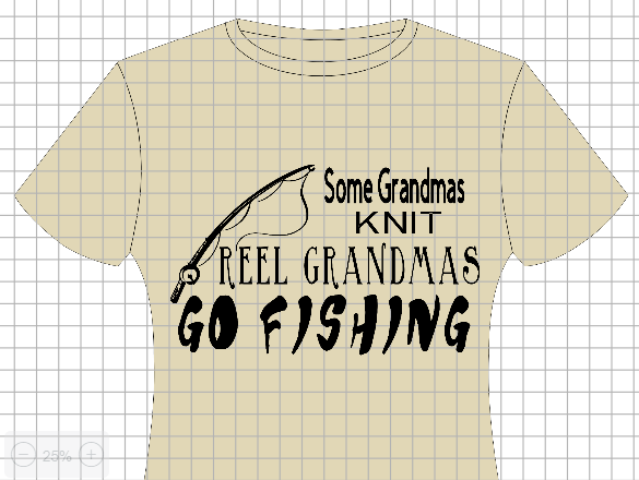 Reel Grandmas Go Fishing Shirt