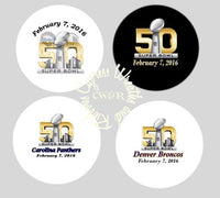 Superbowl 2016 Buttons - 2.25