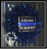 WR2117 Police Wreath Package