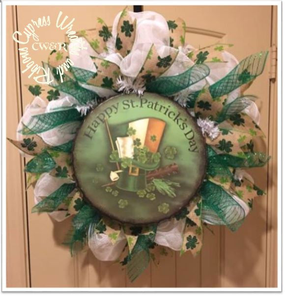 St. Patrick's Day Wreath WR2129