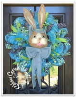 WR2131 - Easter Large Bunny Wreath