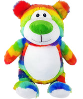 Cubbies Blank - Cubbyford Teddy Bear - Rainbow