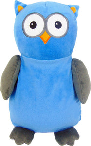 "Baby Cubbies - ""Hooty Lou"" Owl - Blue/Grey"