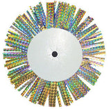 8″ Holographic Fringe Backer