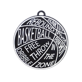 Basketball with Words - 2 Pieces