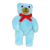 Flocked Jointed Bear – 2.25″ – 1 pc. pkg.