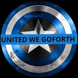 United We Go Forth - Round Sticker
