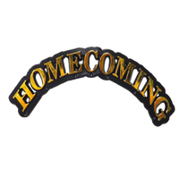 Arched Homecoming Charm 1.25