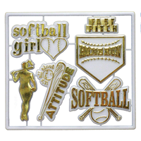 Girls Softball Trinket Pack