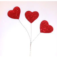 Heart Glitter Spray - 1 Per Package