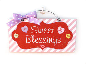 Sweet Blessings Wreath and Sign