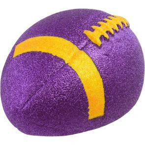 Purple and Gold Football