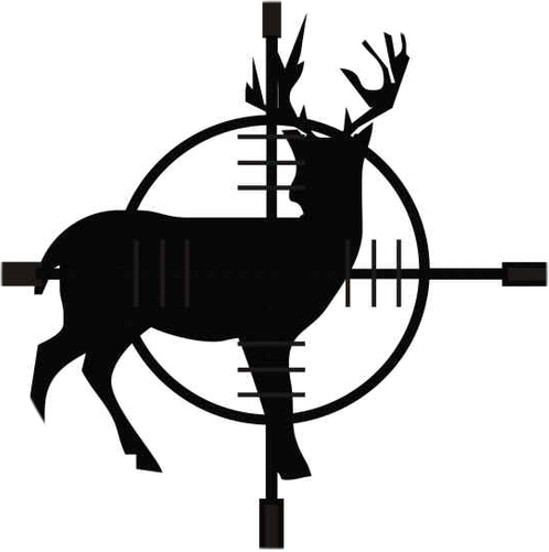 "Scope the Deer 2.25"" Round Button"