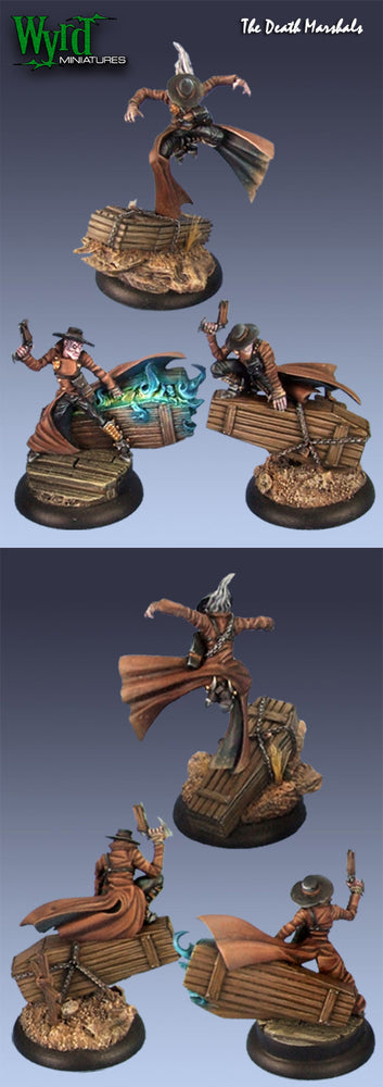 Malifaux Classics: Death Marshals (3 Pack) - Wyrd Miniatures - Online Store