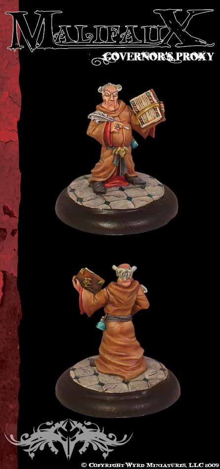 Malifaux Classics: Governors Proxy - Wyrd Miniatures - Online Store