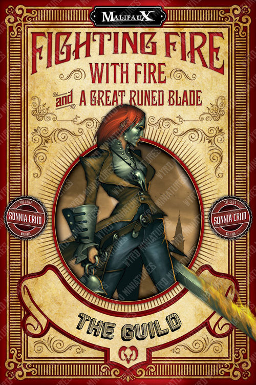 The Guild - Fighting Fire Poster - Wyrd Miniatures - Online Store