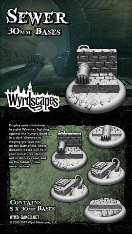 Wyrdscape Sewer 30mm