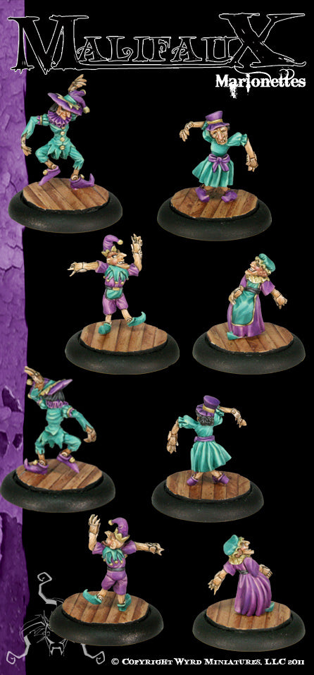 Malifaux Classics: Marionettes (4 Pack) - Wyrd Miniatures - Online Store
