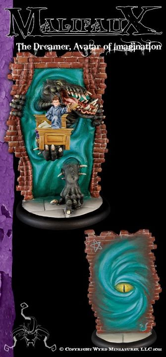 Malifaux Classics: The Dreamer - Avatar of Imagination - Wyrd Miniatures - Online Store