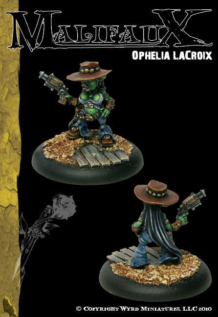 Malifaux Classics: Ophelia LaCroix - Wyrd Miniatures - Online Store
