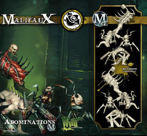 Abominations (4 Pack) - Wyrd Miniatures - Online Store