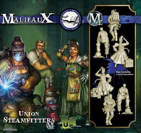 Union Steamfitters (3 Pack) - Wyrd Miniatures - Online Store