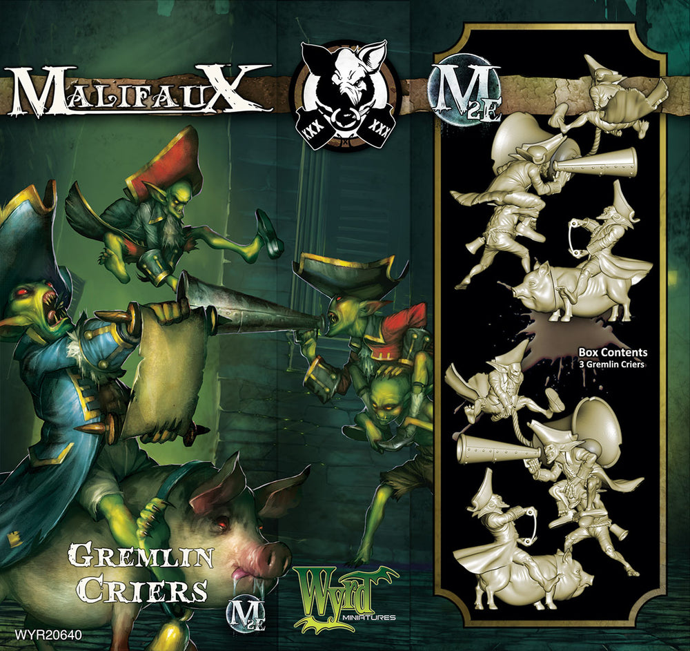Gremlin Criers (3 Pack) - Wyrd Miniatures - Online Store