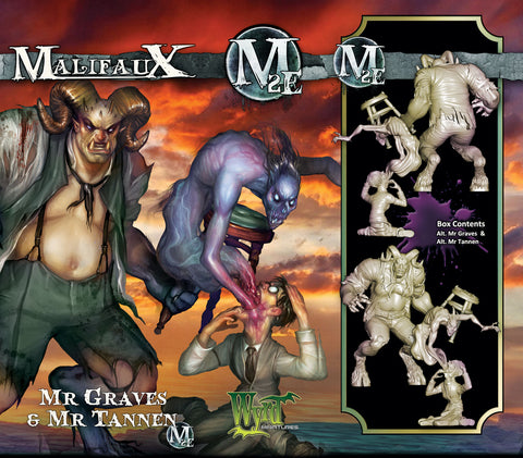 Alt Graves and Tannen - Wyrd Miniatures - Online Store