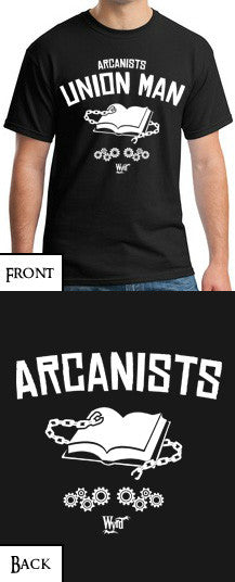 Load image into Gallery viewer, Arcanist T-Shirt - Wyrd Miniatures - Online Store