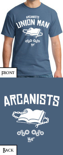 Arcanist T-Shirt - Wyrd Miniatures - Online Store