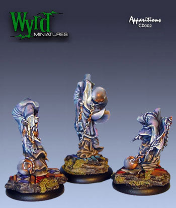 Malifaux Classics: Twisted - Apparitions (3 Pack) - Wyrd Miniatures - Online Store