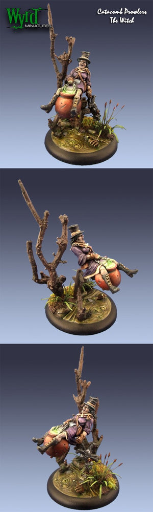 Malifaux Classics: Twisted - Cauldron Witch Donna - Wyrd Miniatures - Online Store