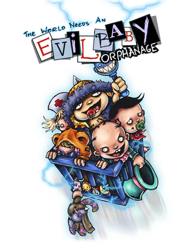 Evil Baby Orphanage - Coloring Book