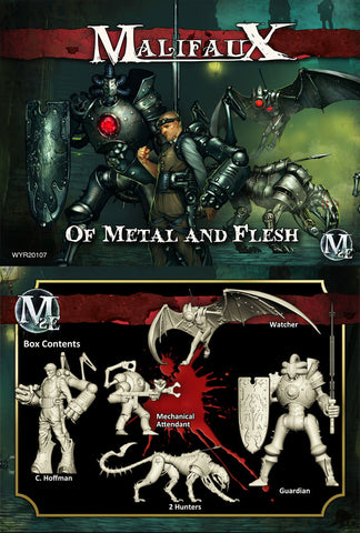 Of Metal and Flesh - C. Hoffman Box Set