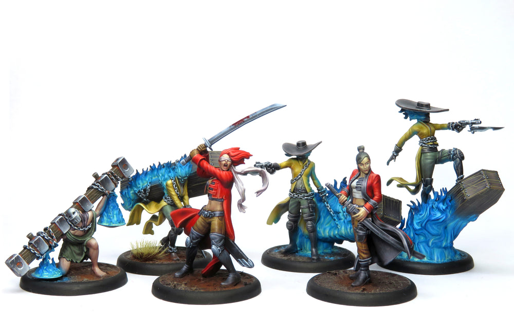 Load image into Gallery viewer, Lady Justice Core Box - Wyrd Miniatures - Online Store
