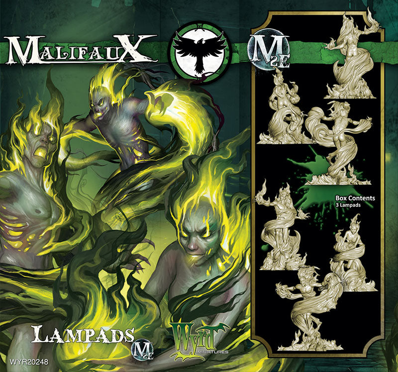 Lampads (3 Pack) - Wyrd Miniatures - Online Store