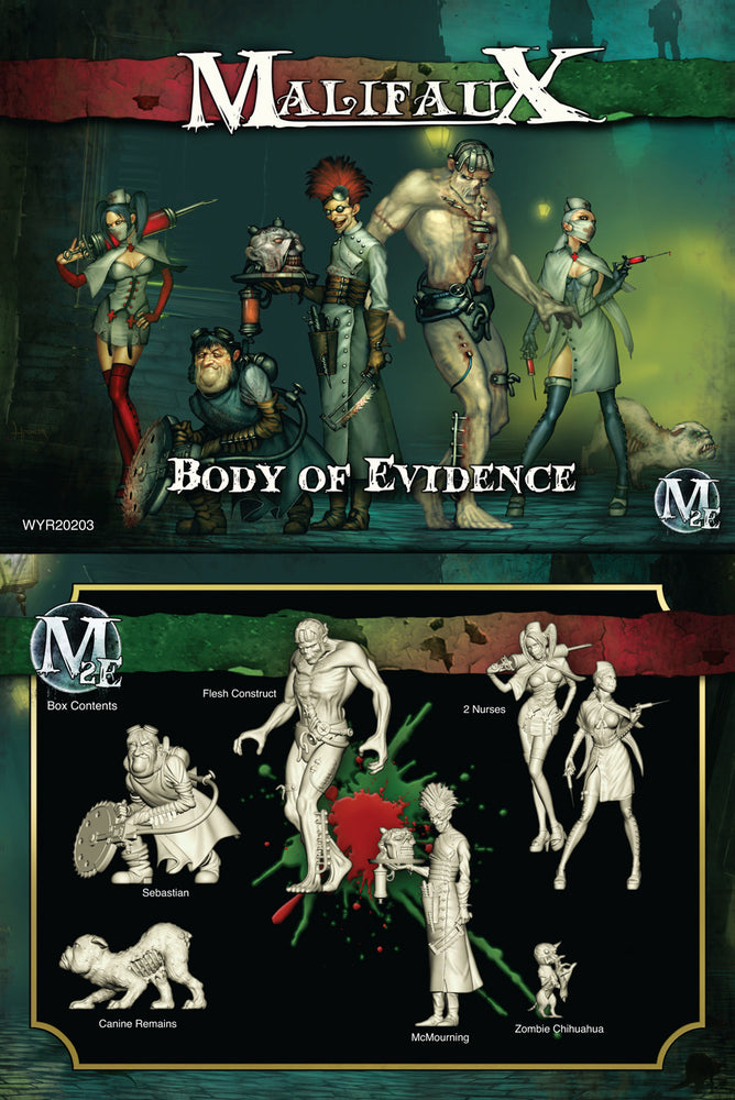 Body of Evidence - McMourning Box Set - Wyrd Miniatures - Online Store